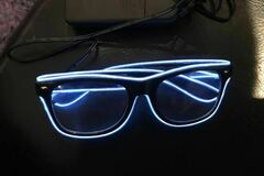 Selling without online payment: Light Up Party Glasses
