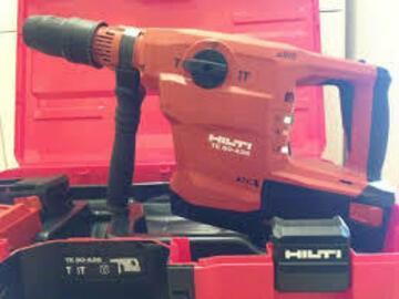 Renting out equipment (w/o operator): Hilti TE 60-A36