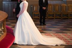 Ilmoitus: Sincerity Bridal A-linjainen hääpuku koko 36 (167 cm sis. korot)