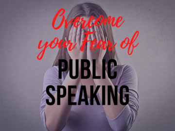 Coaching Session: Overcome Your Fear of Public Speaking