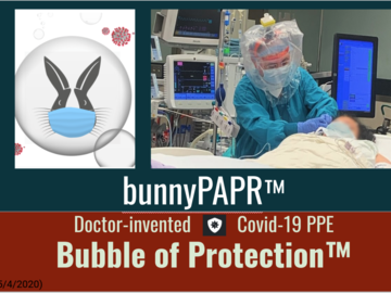 Giving away your product to verified requesters: BunnyPAPR - Bubble of Protection(TM)