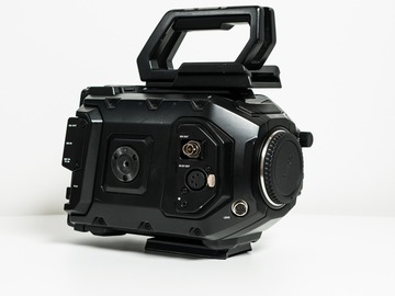 Renting out with online payment: Blackmagic Ursa Mini Pro 4.6k G2