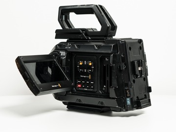Renting out with online payment: Blackmagic Ursa Mini Pro 4.6k G1