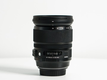 Renting out with online payment: Sigma 24-105mm / f 4.0