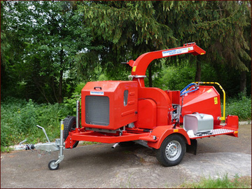 Renting out equipment (w/o operator): Mobile disk crusher Skorpion 250 SDT