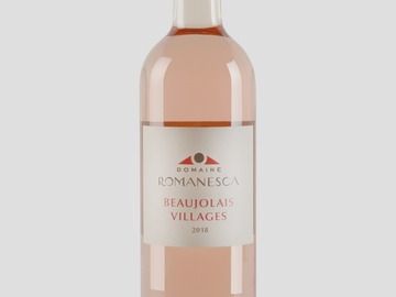 Vente avec paiement en direct: Beaujolais Villages rosé  2018 0.75cl