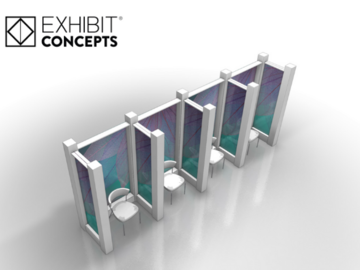 Sell your product: Branded Waiting Area Partitions