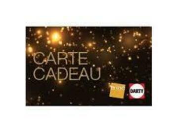 Vente: Carte cadeau FNAC DARTY (240€)