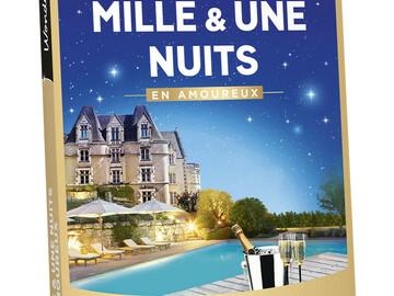 """Vente: e-coffret Wonderbox """"Mille et une nuits en amoureux"""" (119,90€)"""