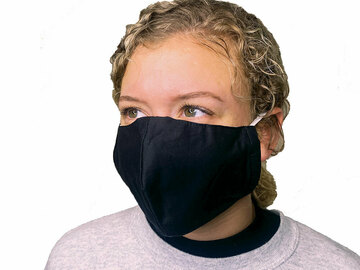 Sell your product: Black 2  Layer Washable Face Mask