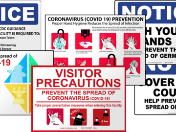 Products for Sale: Health & Safety Signage