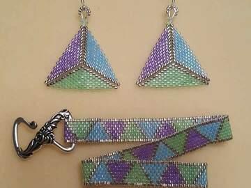 Selling: Bracelet/earrings set