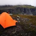 Vuokrataan (päivä): 1 hengen Trimm One DSL teltta