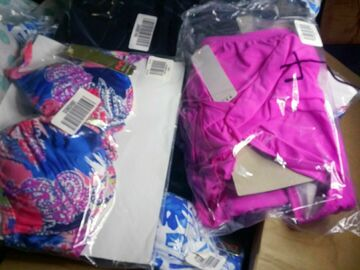 Buy Now: $250+  Maiden form beach wholesale bathing suit 36B S/M 12 pieces
