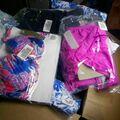 Compra Ahora: $250+  Maiden form beach wholesale bathing suit 36B S/M 12 pieces