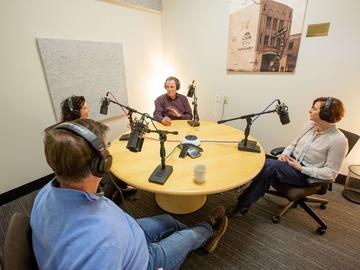 Rent Podcast Studio: MARKET STREET PODCAST STUDIO