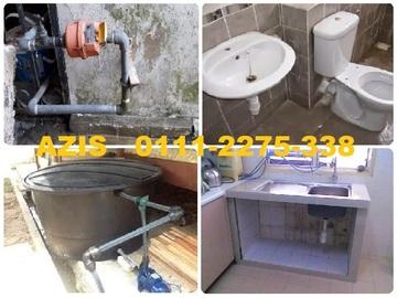 Services: tukang paip plumber 01112275338 azis sunway montana desa melawati