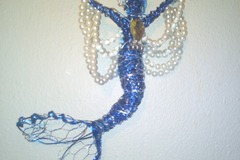 Selling with online payment: Blue Pearl Sculpture