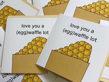 : Love You A (Egg)Waffle Lot