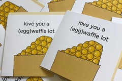 : Love You A (Egg)Waffle Lot