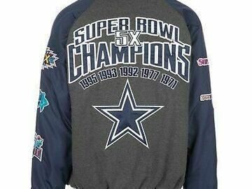 Buy Now: Dallas Cowboys Jackets (3 Jacket Blowout Sale)