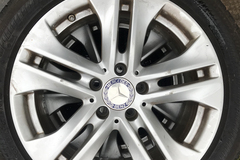 """Selling: OEM M-B 17"""" Wheels and Tires"""
