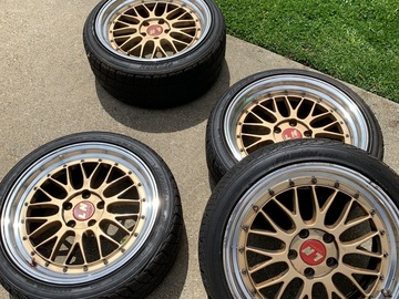 "Selling: 18"" Bbs lm 5x114"