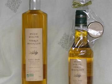 Vente avec paiement en direct: huile d'olive vierge biologique 75cl