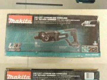 Renting out equipment (w/o operator): Makita XRH04Z 18V