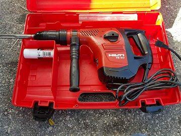 "Renting out equipment (w/o operator): Hilti TE50 1-9/16"""