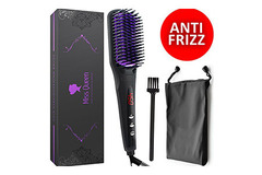 Buy Now: 20 Brushes - Miss Queen Ceramic Hair Straightening Brush