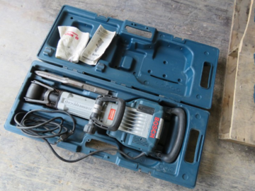 Renting out equipment (w/o operator): bosch 11335k