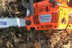 Renting out equipment (w/o operator): Husqvarna 460 Rancher 24-in 60.3-cc 2-Cycle Gas Chainsaw