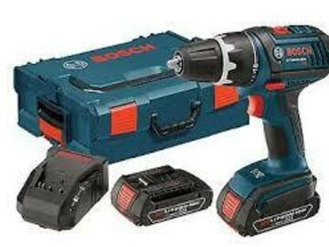 Renting out equipment (w/o operator): BOSCH GSR18V-190B22 1/2IN 18v Li-Ion Compact