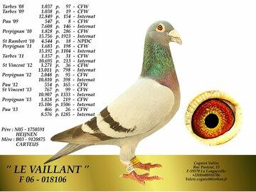 Vente avec paiement en ligne: HENK DE WEERD/ FILLE DU VAILLANT
