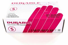 Buy Now: DURABLE Latex Power Free Disposable Gloves 10 box
