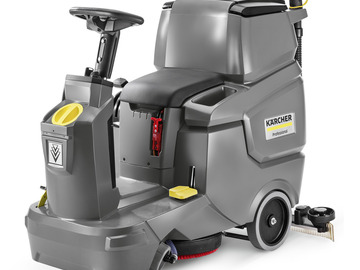 Renting out equipment (w/ operator): Karcher Floor Scrubber with operator