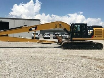 Renting out equipment (w/ operator): 2018 CAT 326FL with operator