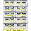 Buy Now: Vegan Human Hair Lashes