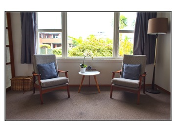 Book on LiveLocal or Other Platforms: Karoro Beach retro apartment