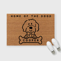 Selling with online payment: Custom Doodle, Goldendoodle, Labradoodle Doormat