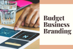 Offering online services: Budget Business Branding
