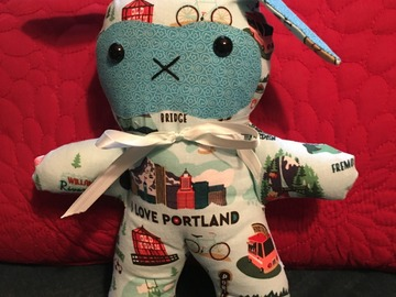 Selling with online payment: Portland Snuggle Bunny