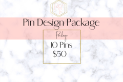 Offering online services: Pin Design