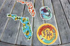 Selling with online payment: Florida Sticker Pack