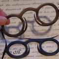 Verkaufen mit Widerrufsrecht (Gewerblicher Anbieter): Óculos de penas da Idade Média
