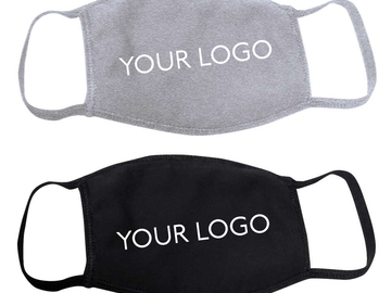Sell your product: Custom Printed 3-Layer Face Masks
