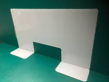 """Sell your product: Salon Table Barrier  43 1/4"""" wide 24"""" Tall"""