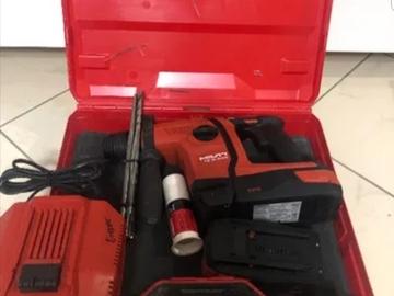 Renting out equipment (w/o operator): Hilti TE6-A36 2016rok