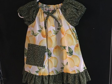 Selling with online payment: Fantastic Lemons Toddler Dress